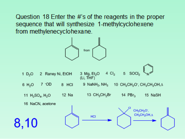 multistep synthesis question